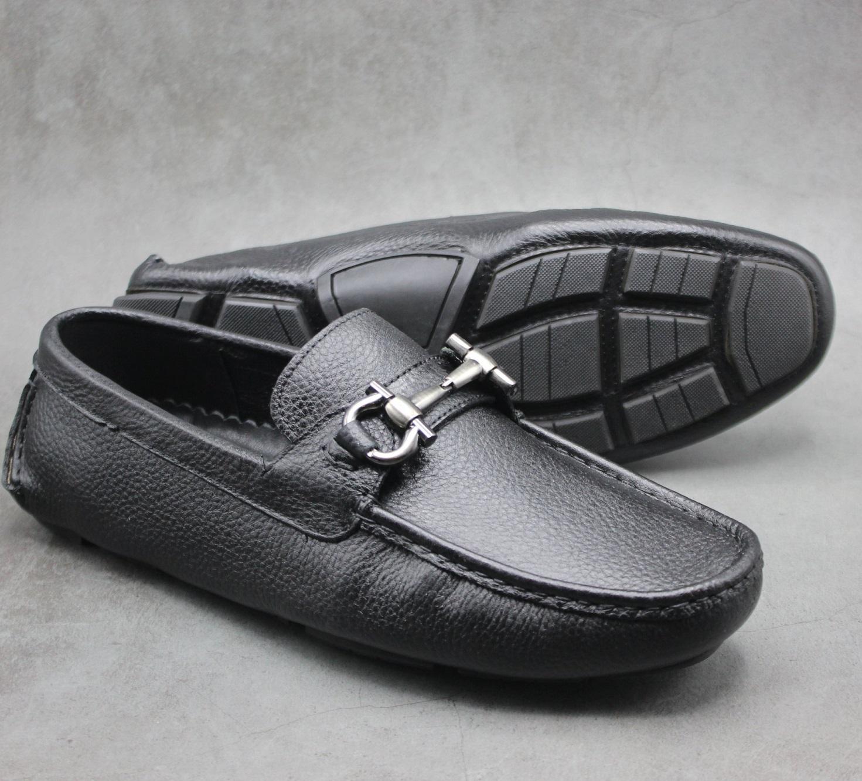 Giày lười nam da bò xịn