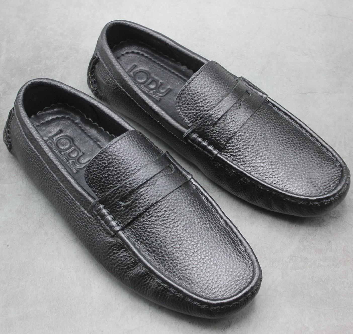 Giày nam da bò hàng hiệu