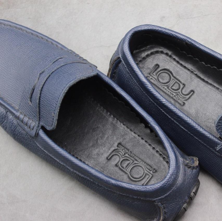 Giày lười nam da bò cao cấp
