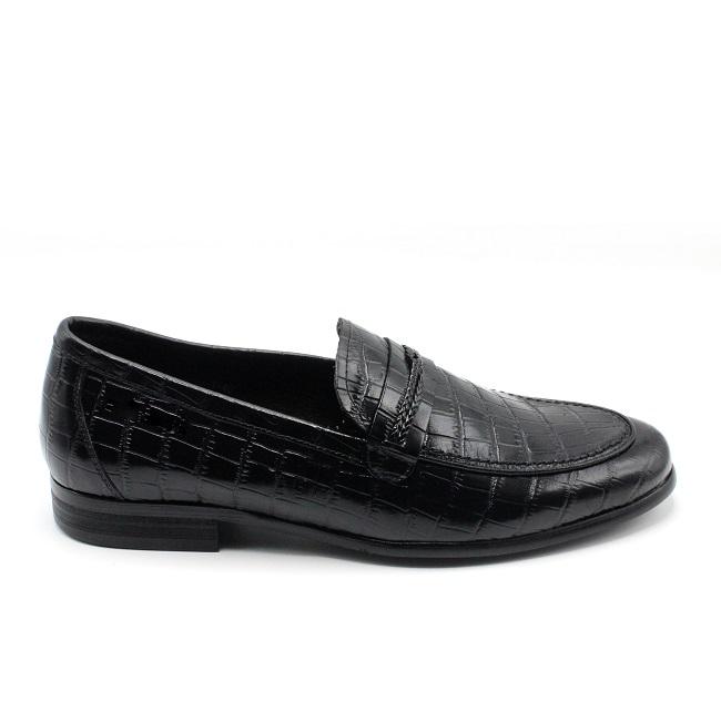 Giày nam da cá sấu LX 218-3