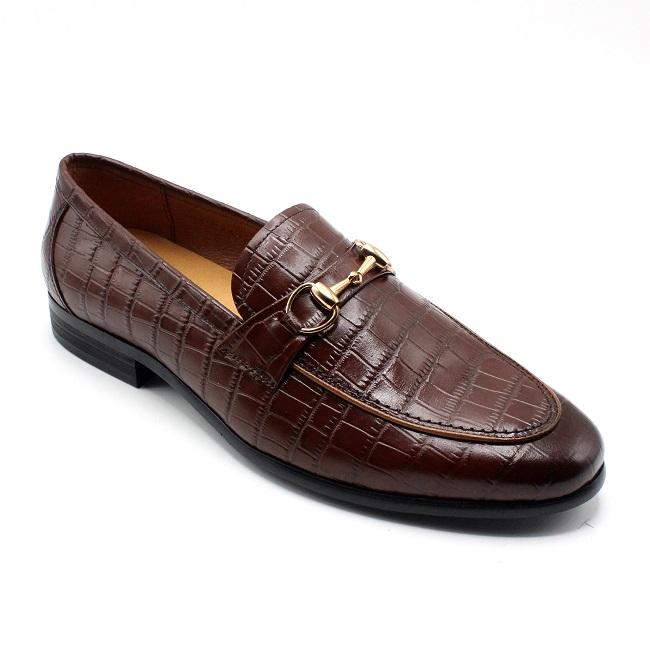 Giày lười da thật hàng hiệu LX 219-4