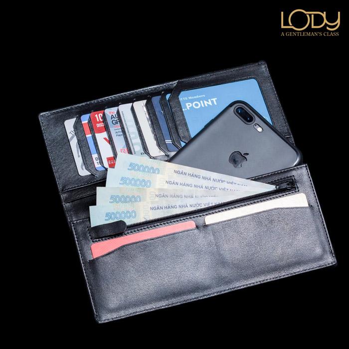 Những điều cần lưu ý khi mua ví da đựng điện thoại