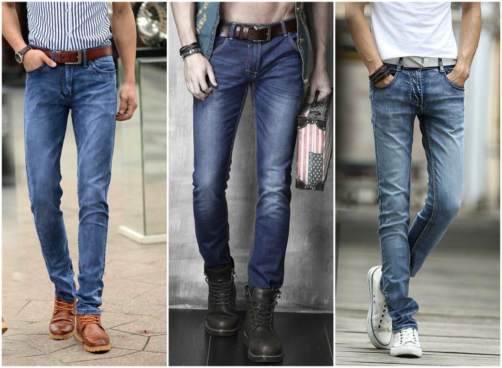 Cách phối thắt lưng nam với quần jean cực chuẩn