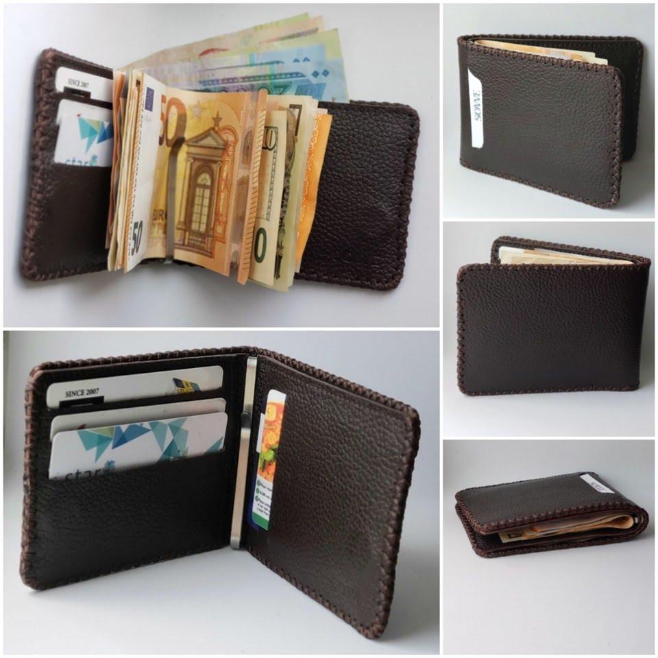 Vì sao nhiều người rất thích dùng ví kẹp tiền nam da bò?