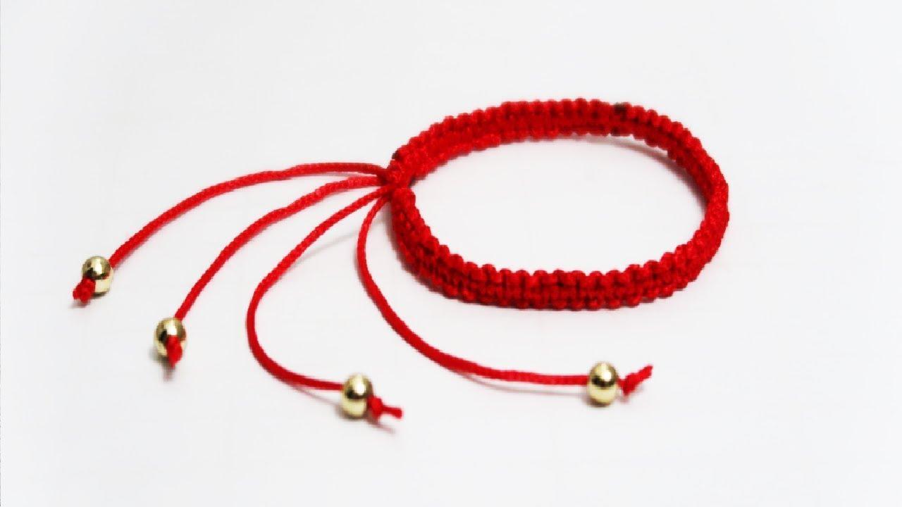 Vòng tay bằng sợi len (chỉ) đại diện cho sự may mắn, hạnh phúc
