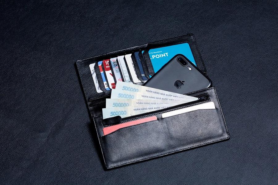 Nguyên tắc sử dụng ví da nam ảnh hưởng trực tiếp đến tài vận của bạn