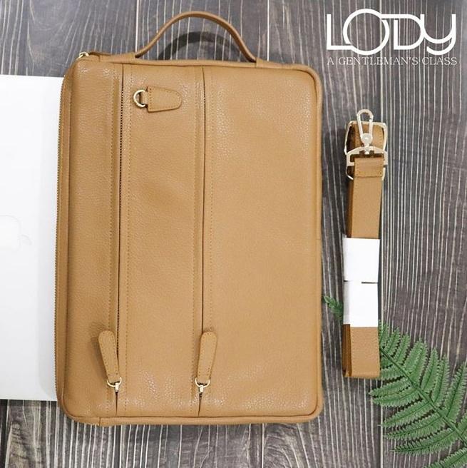 Túi xách đựng macbook 13 inch da thật MAB001N0